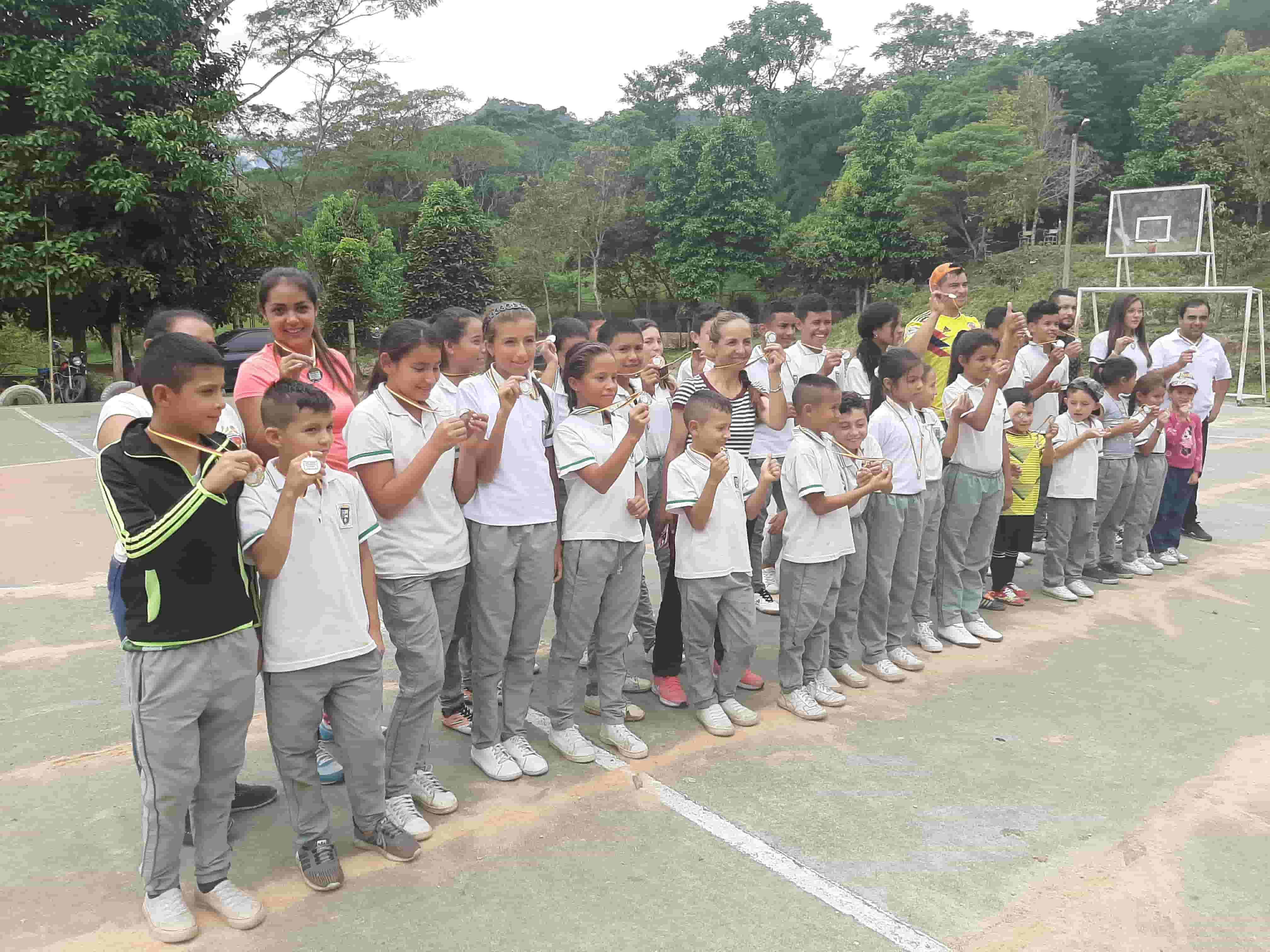 First School Athletics Festival in Maripí