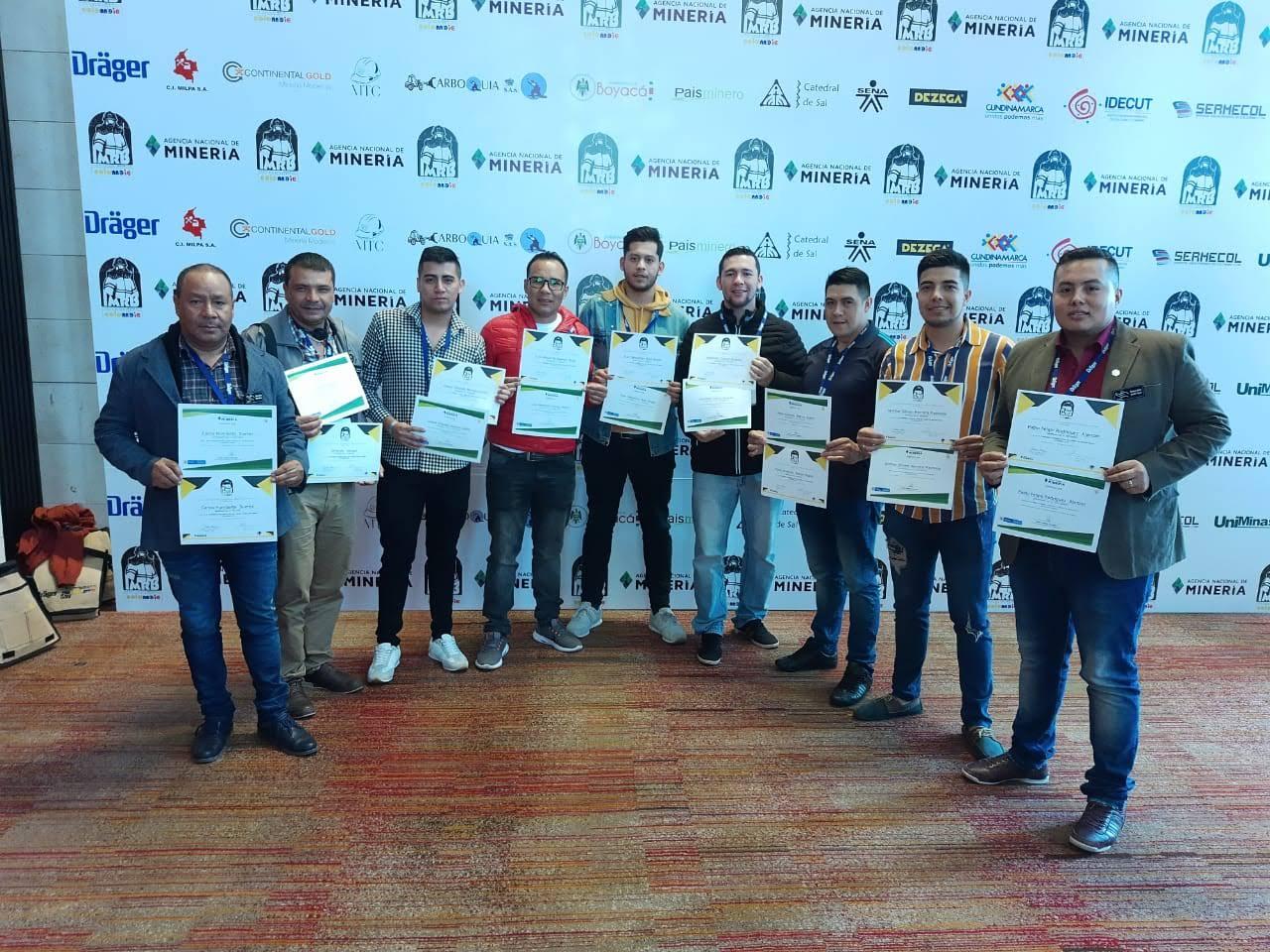 Mineros de Esmeraldas Santa Rosa presentes en Cumbre Mundial por la Seguridad Minera
