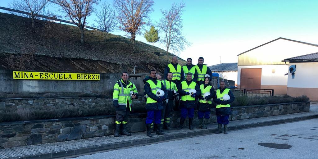 Personal técnico de Esmeraldas Santa Rosa recibe curso de Formación Preventiva en Minería en España