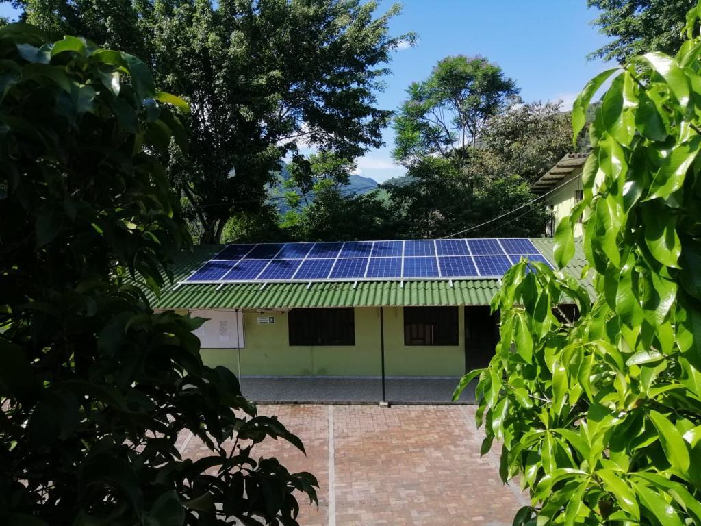 El proyecto de energía solar de Esmeraldas Santa Rosa